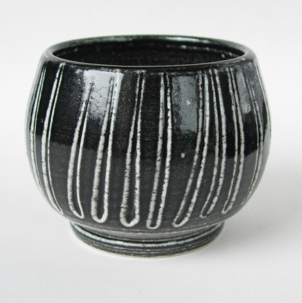 Salt glazed pot